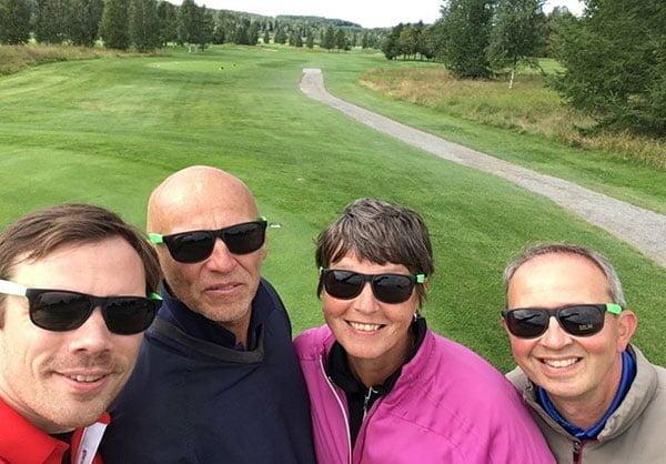 Roiman golf-kisaajat
