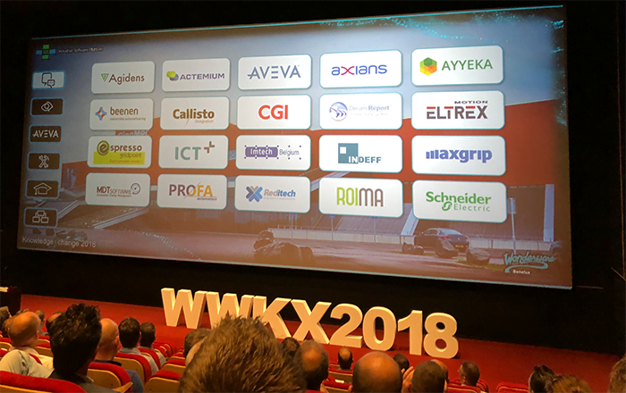 Wonderware Knowledge Exchange 2018 screen