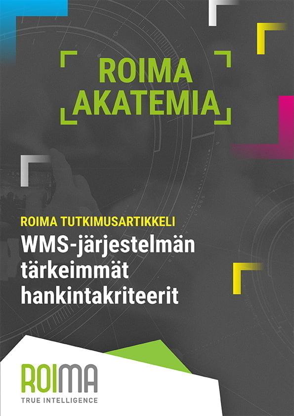 Roima wms-tutkimusartikkeli