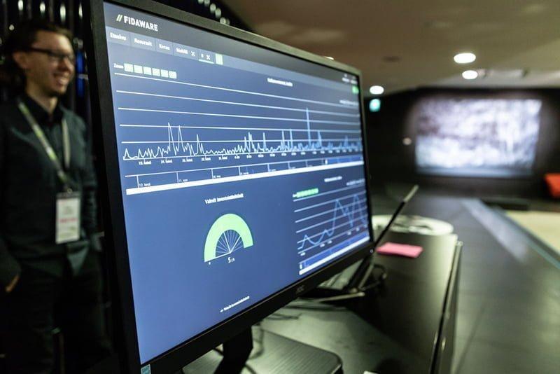 Monitorointi FidaWare järjestelmästä