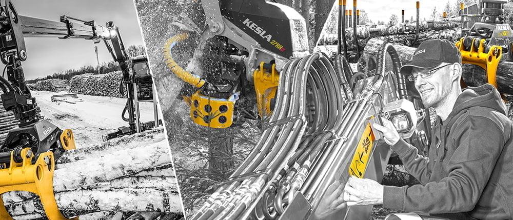 valokuva Keslan koneet ja ammattilainen